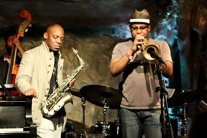 Etienne Charles with the Marcus Strickland Quintet at Bohemian Caverns