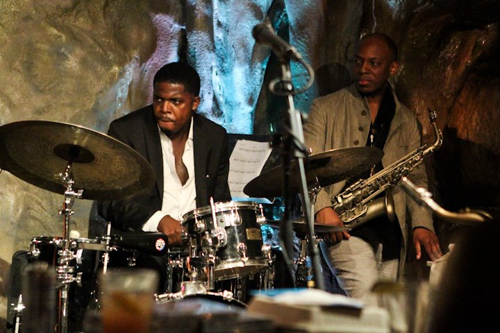 Justin Faulkner with the Marcus Strickland Quintet at Bohemian Caverns