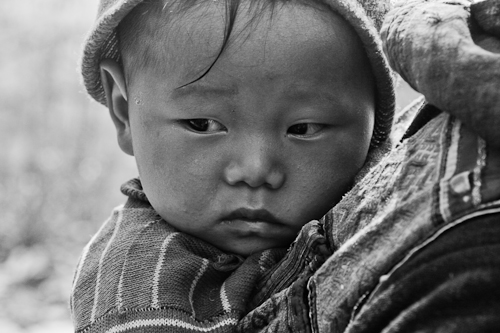 Baby on Board, Sapa, Vietnam