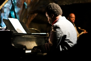 David Bryant, piano and Marcus Strickland, saxophone