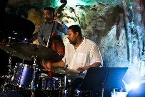 Nasheet Waits, drums with Jaribu Shahid, bass