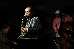 Herb Scott, saxophone with Bob Butta, piano and Herman Burney, bass