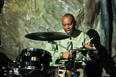 Frank Williams, drums