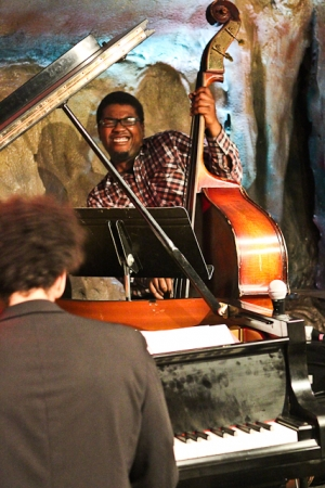 Dezron Douglas, bass and David Virelles, piano