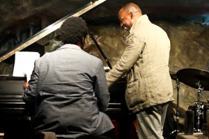 Marcus Strickland, saxophone and David Bryant, piano