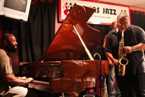 Bruce Williams, saxophone and Allyn Johnson, piano