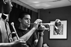 Norberto Mejicanos, trumpet with Kenny Rittenhouse, trumpet