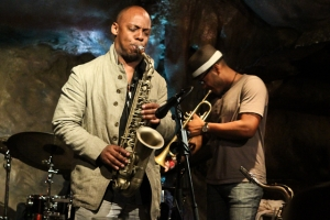 Marcus Strickland, saxophone and Etienne Charles, trumpet