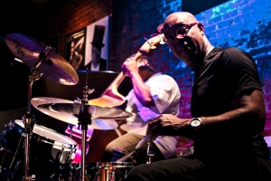 Keith Killgo, drums and Cheney Thomas, bass