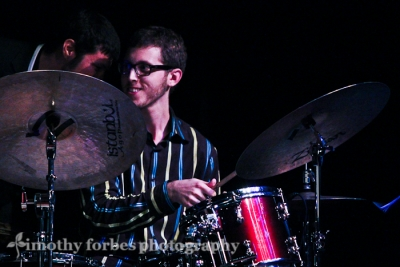 Aaron Seeber, drums with a word from Balbed