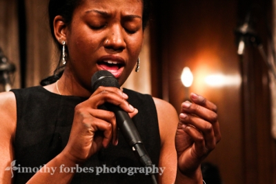 Shining her light: Integriti Reeves, vocals