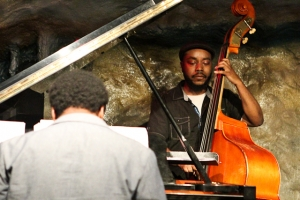 Ameen Saleem, bass and David Bryant, piano