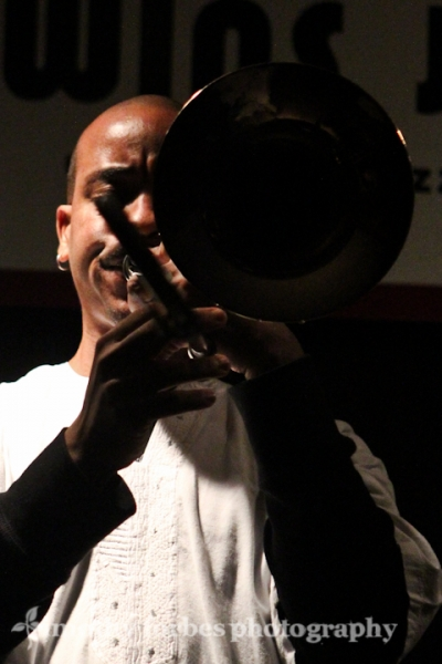 Reginald Cyntje, trombone
