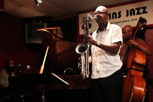 Paul Carr, saxophone, Allyn Johnson, piano, and Herman Burney, bass